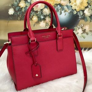 Kate Spade Cameron MD Leather Satchel